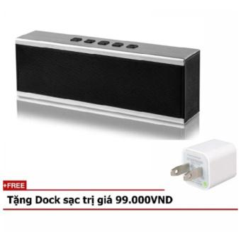 Loa KingkongX6 siêu Bass Bluetooth âm thanh chuẩn 3D + Tặng kèm dock xạc