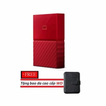 Ổ cứng di động gắn ngoài WD My Passport Ultra - 2.5\ USB 3.0 1TB NEW (Black) Tặng kèm bao da