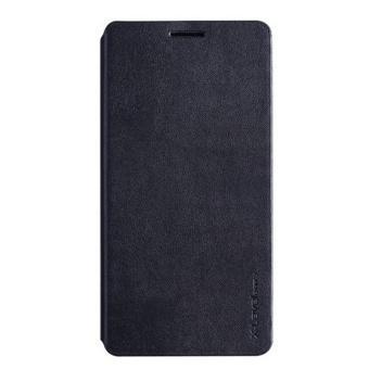 Bao da X-level FIBCOLOR cho Samsung Galaxy A7 (Đen)