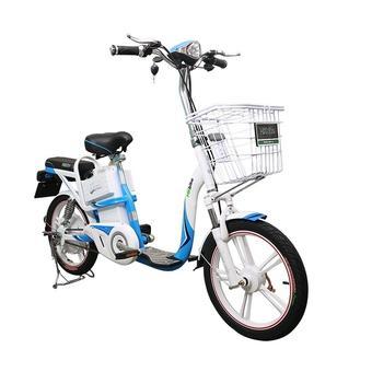 Xe đạp điện HK Bike ZINGER COLOR (Trắng)