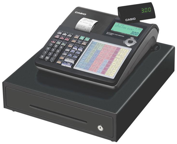 Máy tính tiền Casio Model SE-C300