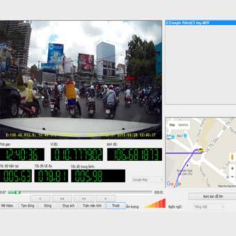 Camera hành trình Vietmap C5 + GPS + Thẻ nhớ 32gb