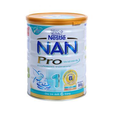 Sữa bột Nan Pro 1 Nestle 800g