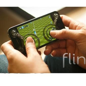 Joystick Fling mini hỗ trợ chơi game iPhone, iPad, smartphone