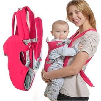 Địu em bé 4 tư thế Baby Carrier CM101 (Đỏ)