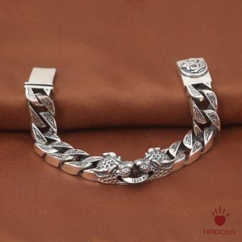Lắc tay nam bạc Thái 925 đầu -TSB207S