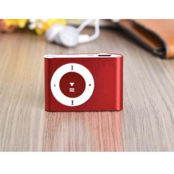 Máy nghe nhạc MP3 mini vỏ nhôm (Đỏ)