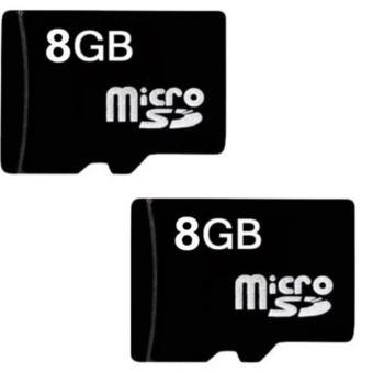 Bộ 2 Thẻ nhớ Micro Memory Card SD 8GB (Đen)