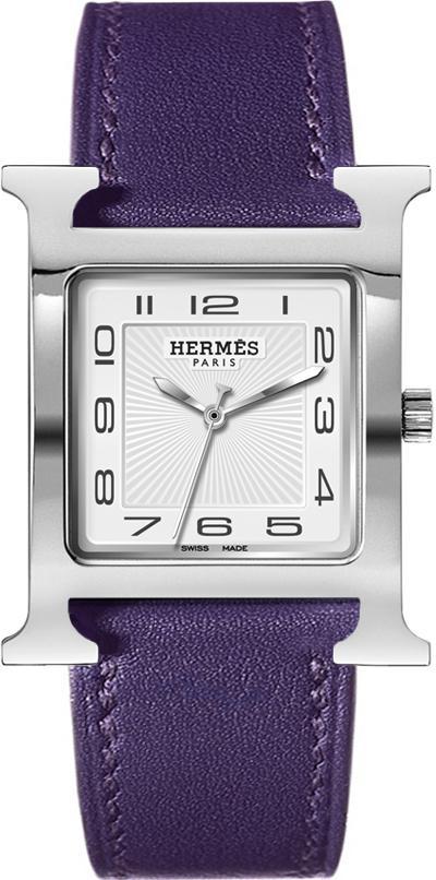 Hermes H Hour Quartz Large TGM Watch 30.5x30.5mm