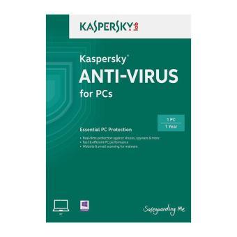 Phần mềm diệt virus Kaspersky Anti Virus 2015 1PC /1năm