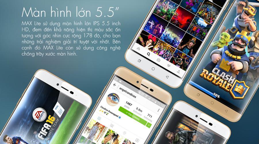 Điện thoại  Coolpad Max Lite