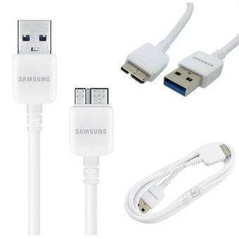 Cáp Samsung Galaxy Note 3 USB 3.0 Samsung N900 (Trắng)