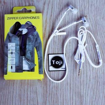 Tai nghe Zipper có khóa kéo Thời trang, Sành điệu + Tặng Nút bịt chống bụi thời trang cho điện thoại