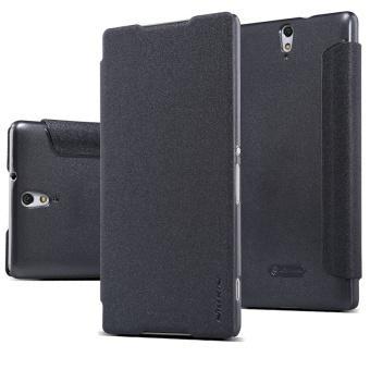 Bao da Nillkin cho Sony Xperia C5 Ultra (Đen)