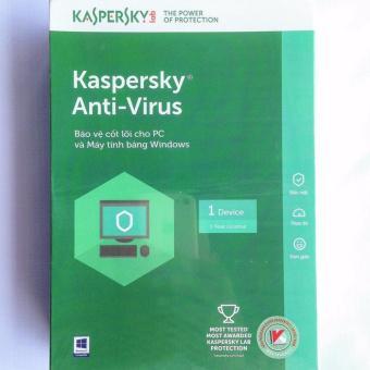 Phần mềm diệt virus Kaspersky Anti - Virus