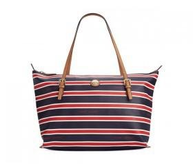Tommy Hilfiger TH Stripe Large Convertible Tote