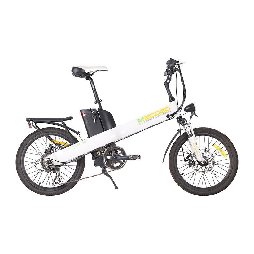 Xe đạp điện Ecogo Max 6 (Màu trắng)