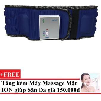 Đai Mát Xa Giảm Béo Bụng X5 + Tặng Máy massage mặt DS-039 bằng ion (Trắng) .2016