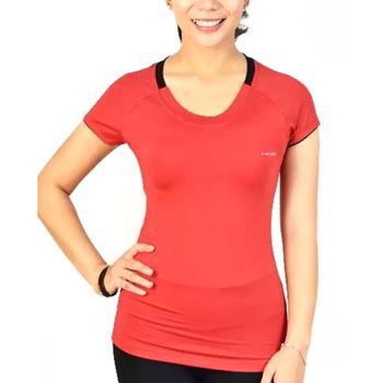 Áo thun nữ cổ tròn Hiye thời trang SportSlink (Đỏ) - TSF004_DO