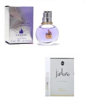Bộ 1 Nước Hoa Nữ Vial Dior Jador 1ml Eau De Parfum Và 1 Nước Hoa Nữ Carolina Herrera Ch Ch 8ml Eau D...