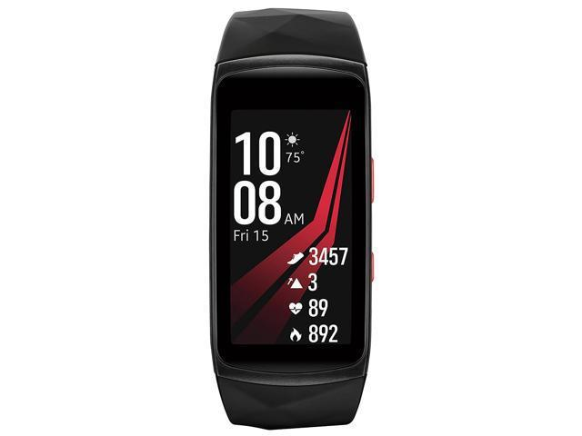 Samsung Gear Fit2 Pro R365 Fitness Smartwatch - Red (Large)