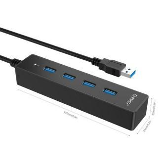 Bộ chia 4 cổng USB 3.0 - Hub USB 3.0 ORICO W8PH4 chính hãng