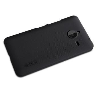Ốp lưng Nillkin nhựa cứng sần cho Microsoft Lumia 640XL (Đen)