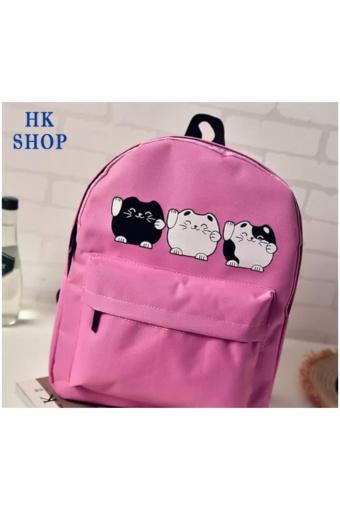 Ba Lô Mèo Ú HK SHOP MU2 ( HỒNG )