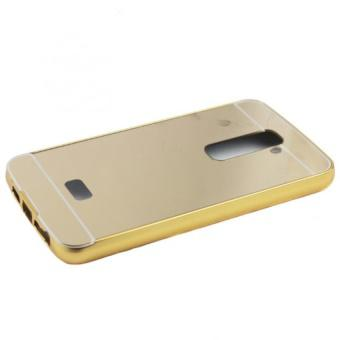 Ốp lưng nguyên khối gương cho LG G2 (Vàng)