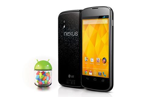 Điện thoại di động LG Nexus 4 E960/ Black