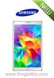 Máy tính bảng Samsung Galaxy Tab S 8.4 SM-T705 Wifi 3G 16GB Trắng (Hàng chính hãng)