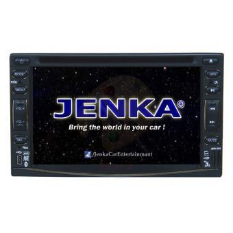 Đầu đĩa DVD liền màn hình dùng trên xe JENKA DVX-6655HD