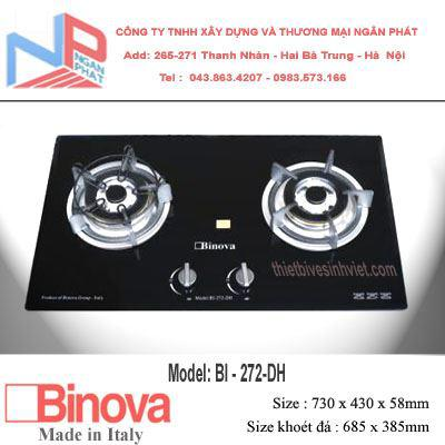 Bếp 2 gas Binova Italy BI-246-DH