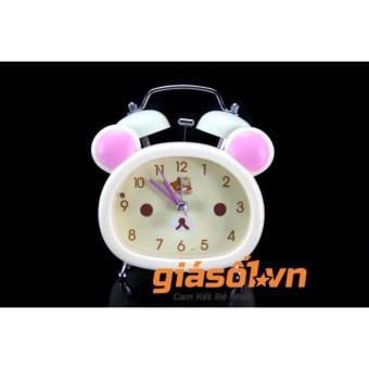 Đồng hồ báo thức để bàn cho bé 17051 (Trắng)