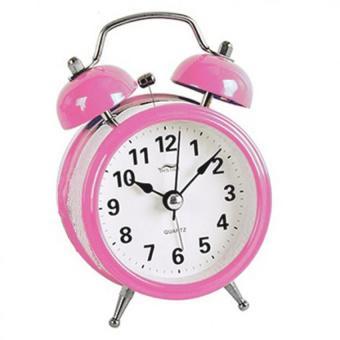 Đồng hồ báo thức để bàn Mini Alarm TI0110 (Hồng)
