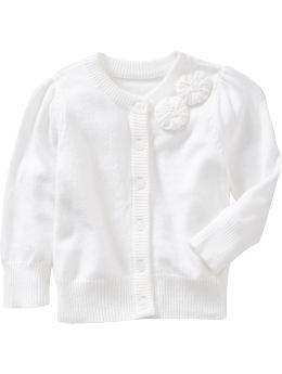 Rosette Cardigans for Baby