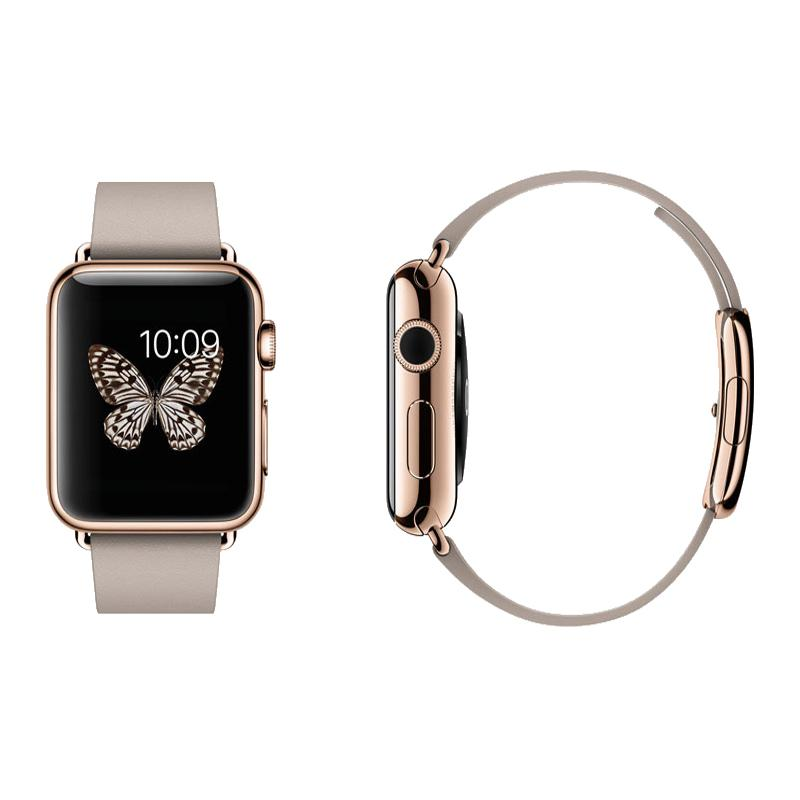 Apple Watch Edition 42mm 18 Karat Yellow Gold - Black Sport