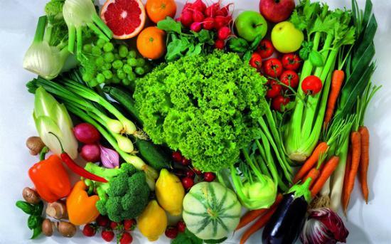 Các thực phẩm lành mạnh tốt cho sức khỏe, giàu vitamin và khoáng chất đẩy lùi độc tố..