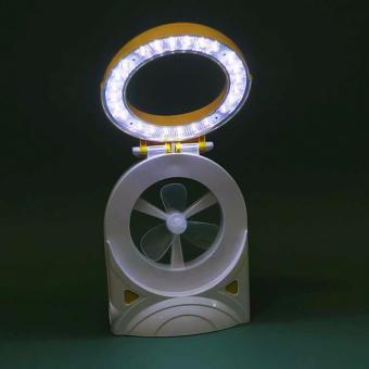Quạt tích điện kiêm đèn học đèn pin 3 trong 1