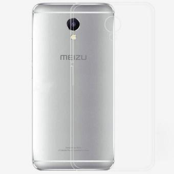Ốp lưng silicon Meizu M5 Note ( Trắng trong)