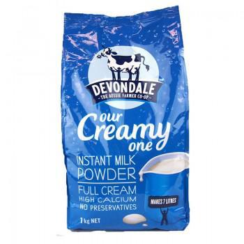 Sữa tươi nguyên kem dạng bột Devondale 1kg Our Creamy One Full Cream từ Úc