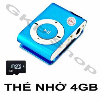 Máy nghe nhạc MP3 và thẻ nhớ 4GB