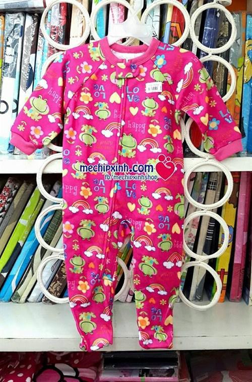 9 tháng đến 3 tuổi Body nỉ bông thu đông ấm áp thích hợp làm túi ngủ cho bé