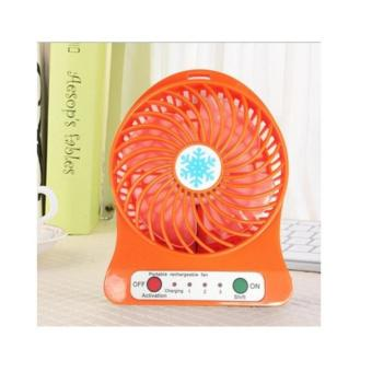 Quạt hoa tuyết 3 cấp độ pin sạc mini fan