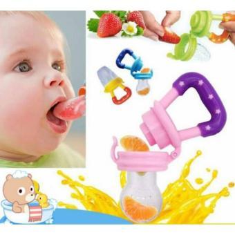 Túi Nhai Ăn Dặm Chống Hóc GB Baby Korea + tặng Bộ 10 Kẹp Tóc Cho Bé Yêu (Vàng Nhạt)