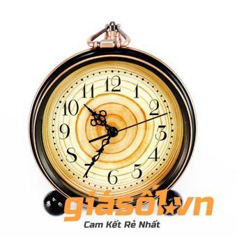 Đồng hồ báo thức Alarm Clock có quai xách-01(Đen)