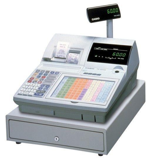 Máy tính tiền điện tử Casio QT-6000