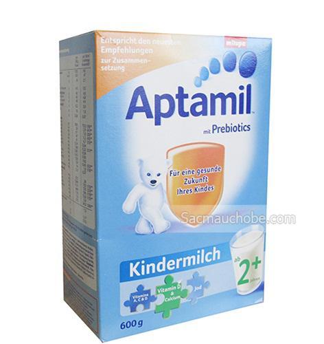 Sữa Aptamil Đức 2+ (600g) (mới)