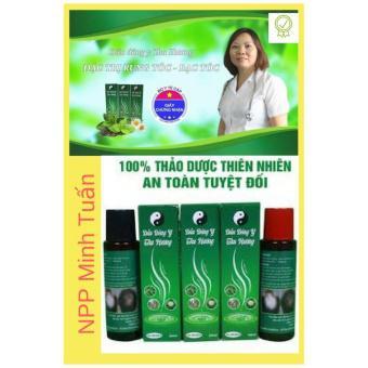 Bộ dầu gội và dầu bôi trị rụng tóc, bạc tóc Thu Hương