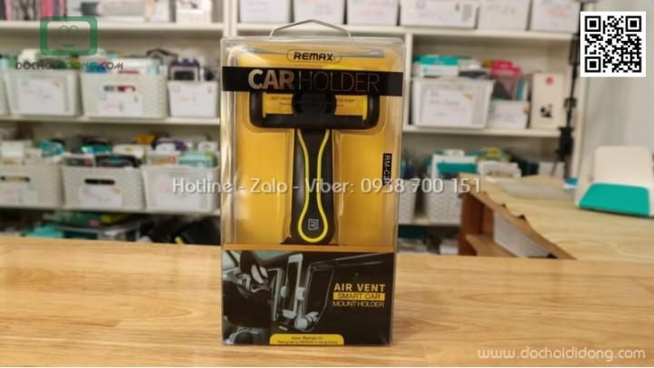 Giá đỡ điện thoại gắn khe gió máy lạnh xe hơi Remax RM-C24